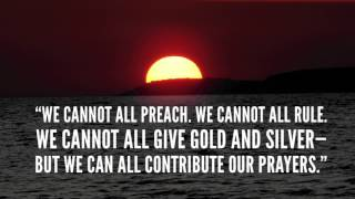 Charles Spurgeon on Prayer