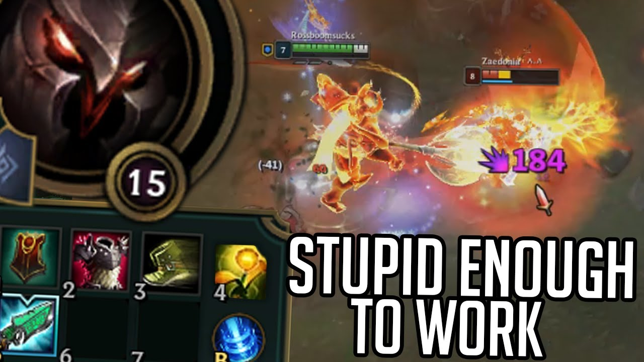 League of Legends but New Mordekaiser is a support thumbnail