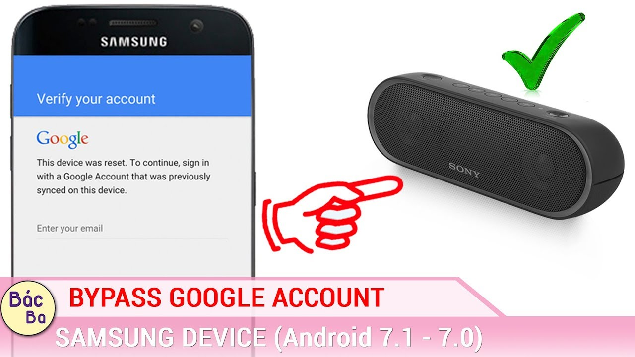 Bypass Google Account All Android 7.1 – 7.0 on All Samsung Devices Update New Method