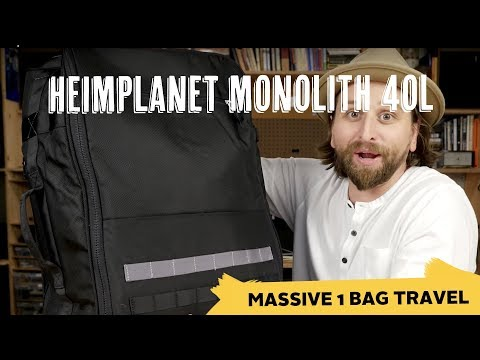 Heimplanet Monolith Weekender 40L Review - YouTube