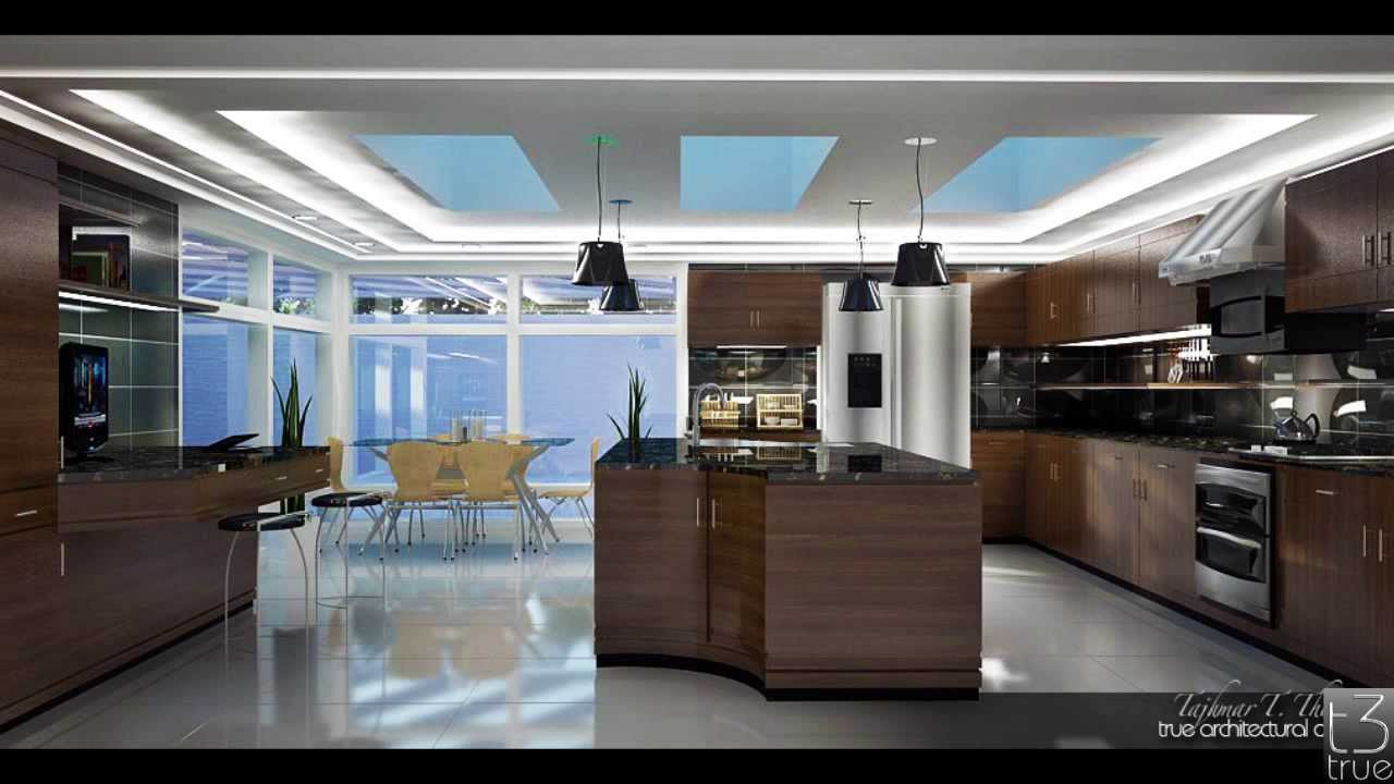 custom kitchen design vray render sketchup - Sketchup Kitchen Design