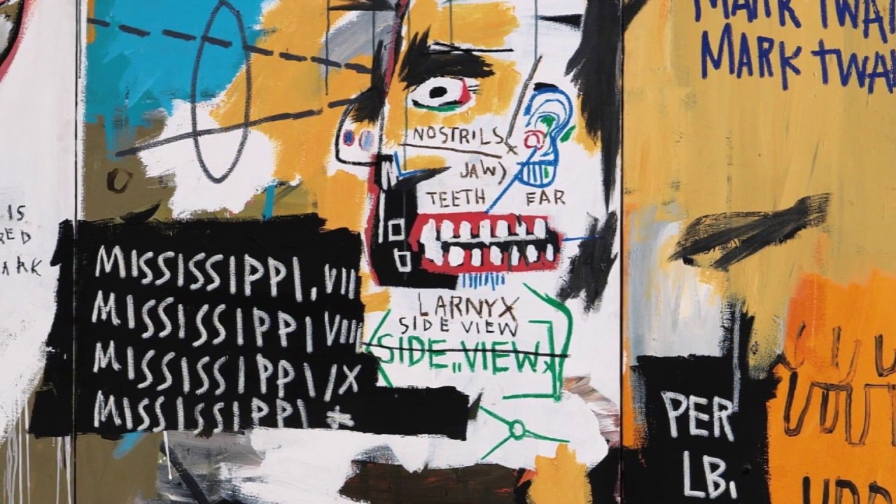 Jean-Michel Basquiat (Abstract) | Prof. Archibald [2018]