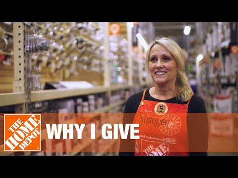 Why I Give - The Homer Fund - The Home Depot - 동영상