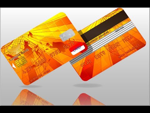 vector Credit And Telephone Card illustrator