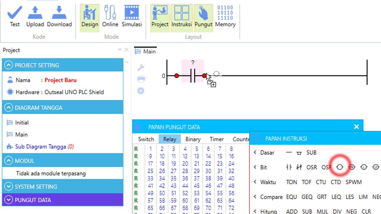 Belajar Dasar Plc Untuk Pemula Cara Membuat Ladder Diagram Lampu Kedap Kedip By Trikueni Dermanto