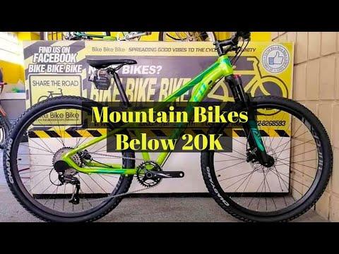 Top 10 Mountain Bikes Below 20 000php 2020 Youtube