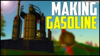 ECO Survival - Part 8: How to Make Gasoline for Cars!