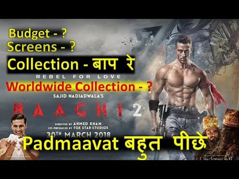 Baaghi 2 Movie Collection, Budget, Screens & Worldwide Collection 2018