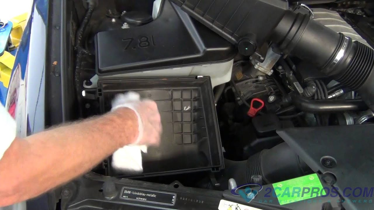 how to change cabin filter in 2005 bmw 745i