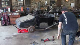 How To Split Early Ford Rear Wishbones - Ford Free-T - Ep. 29