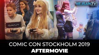 Comic Con Stockholm 2019 - Aftermovie [4K]
