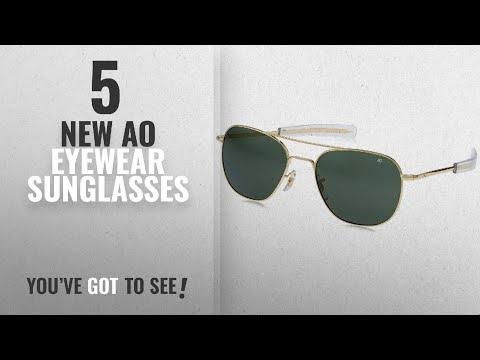 Top 10 Ao Eyewear Sunglasses [ Winter 2018 ]: AO Original Pilot Sunglasses 57mm Gold Frames With
