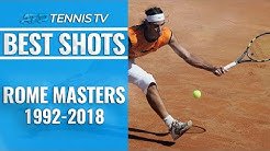 Best Shot From Every Year Of The Rome Masters!