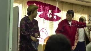 熊本市の新聞博物館で行った「肥後にわかにわか展」イベントの一コマです.