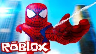 WE'RE BECOMING SPIDER-MAN: O-(Roblox Super Hero adventure) EP. 1