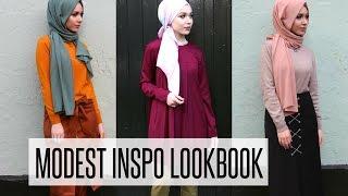 MODEST INSPO LOOKBOOK | NABIILABEE