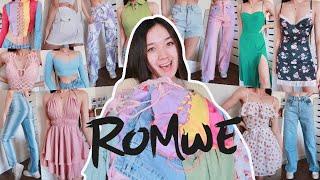 HUGE SPRING ROMWE CLOTHING HAUL 2021   30+ items screenshot 5