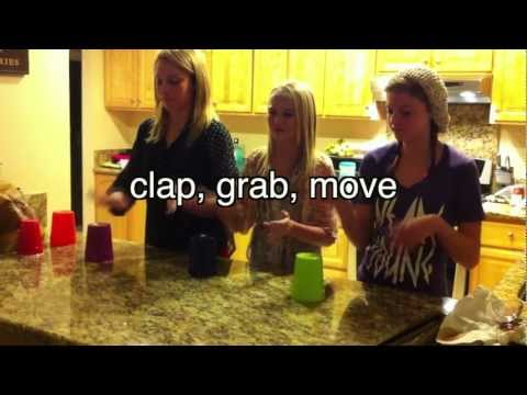 Pitch Perfect Cup Song Tutorial with Lyrics
