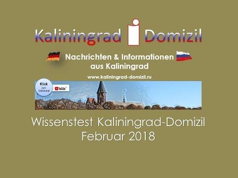 Kaliningrad: Wissenstest Februar 2018