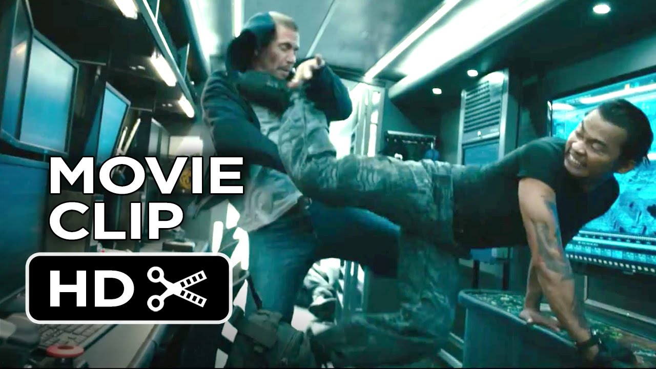 furious 7 movie clip transport fight 2015 vin diesel
