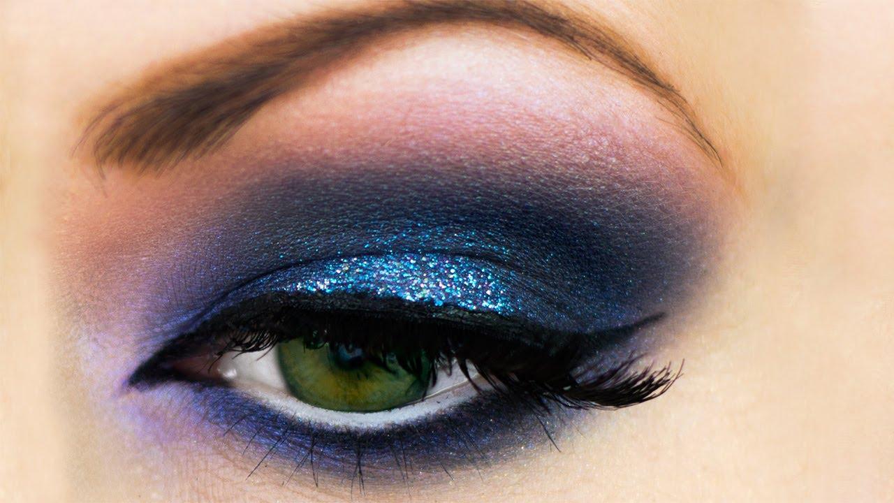 blue smokey eyes: makeup do's!