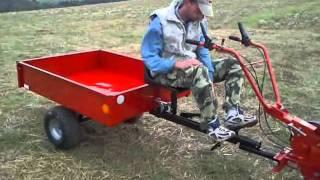 Vozík VARES PROFI IT 500 za jednoosý traktor / kultivátor s univerzálním připojením