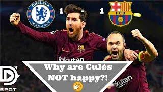 Chelsea vs fc barcelona 1-1 full match analysis | dspot reporting for sb nation's barca blaugranes