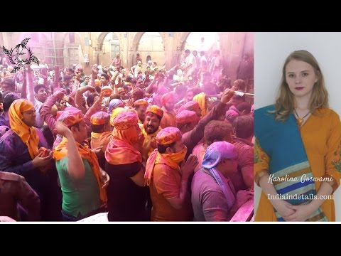 Holi - an ancient Indian festival- by Karolina Goswami