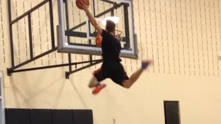 6'1 Jordan Kilganon RAW Dunks and Attempts!! 2014