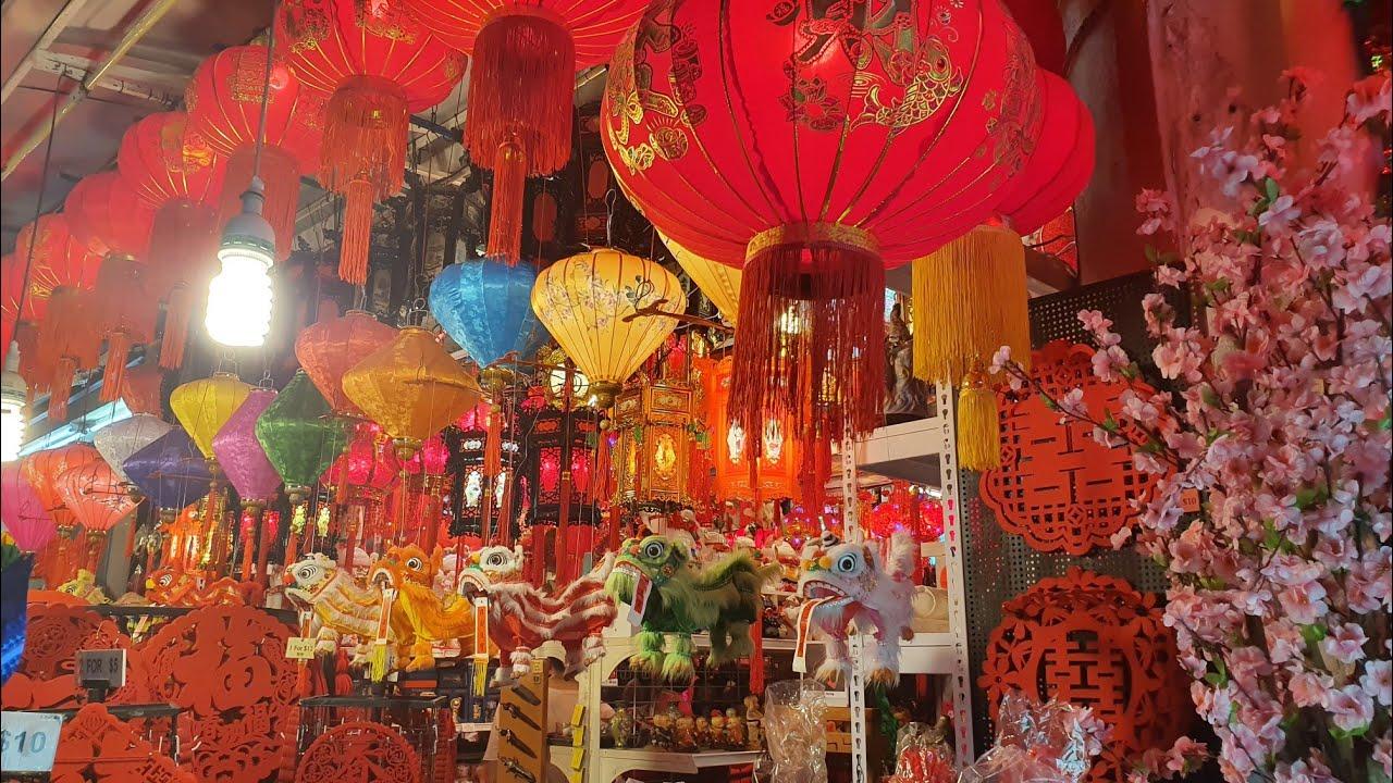 2020 新加坡牛车水春节年货市场 : Chinese New Year 2020 :: Decoration ...