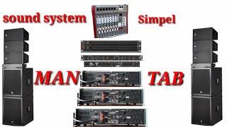 Cover images Sound system rinkas suara mantab begini cara susunnya