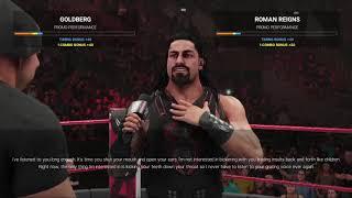 WWE2K19 March Week 4 Raw Match 4 Chris Jericho vs Jinder Mahal