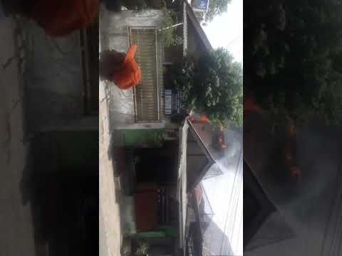 Detik detik kebakaran besar 6 rumah habis di pisangan lama jakarta timur Mp3