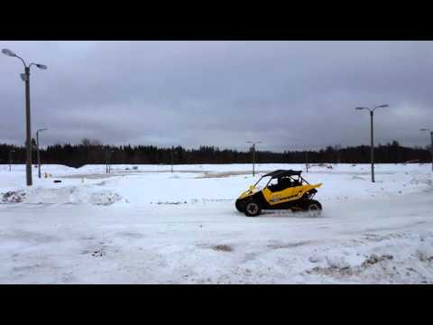 Yamaha YXZ1000R test drive 2 in Tampere, Finland