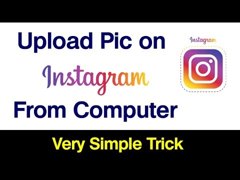 How to post a photo on instagram online