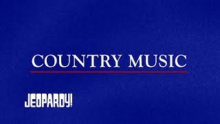Country Music PBS | Jeopardy!