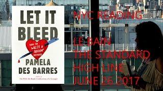 Pamela Des Barres - Let It Bleed - NYC Reading