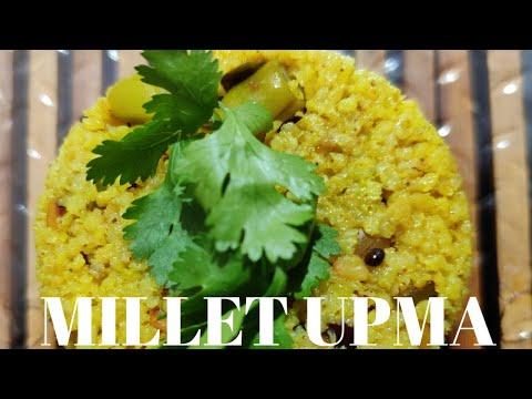 Millet Upma in Earthen Pot || Barnyard Millet Upma || TASTY HEALTHY & NU...