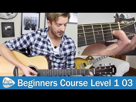 How to Change Chord on Guitar (Beginner Guitar Course Level 1 lesson 3)