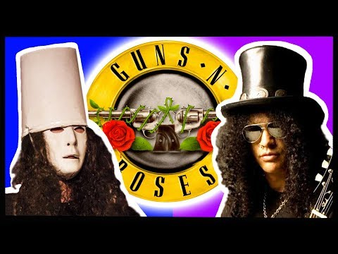 The History of the Buckethead Slash Feud