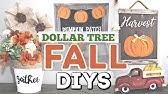 DIY Dollar Tree FALL Decor 2019Fall Home Decor DIY CraftsKrafts by Katelyn