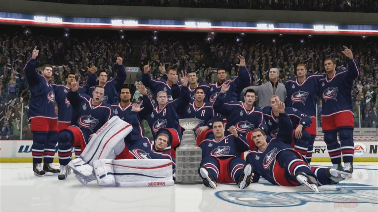 NHL 14 - Columbus Blue Jackets Stanley Cup Championship ...