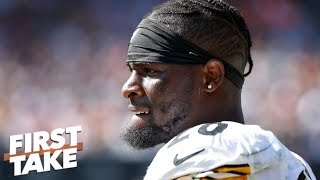 Is Le'Veon Bell's holdout with Steelers getting personal? | First Take