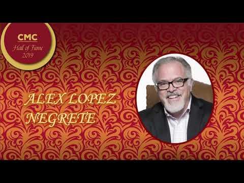 CMC Hall Of Fame Alex Lopez Negrete Induction