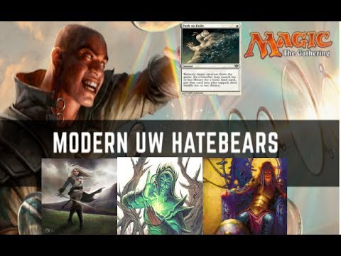 Magic modern top deck: UW hatebears (new opponent appear)