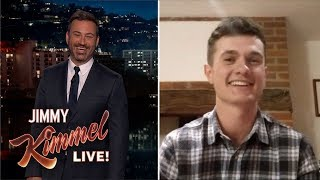 Jimmy Kimmel Chats with British Teen Who Trolled Trump