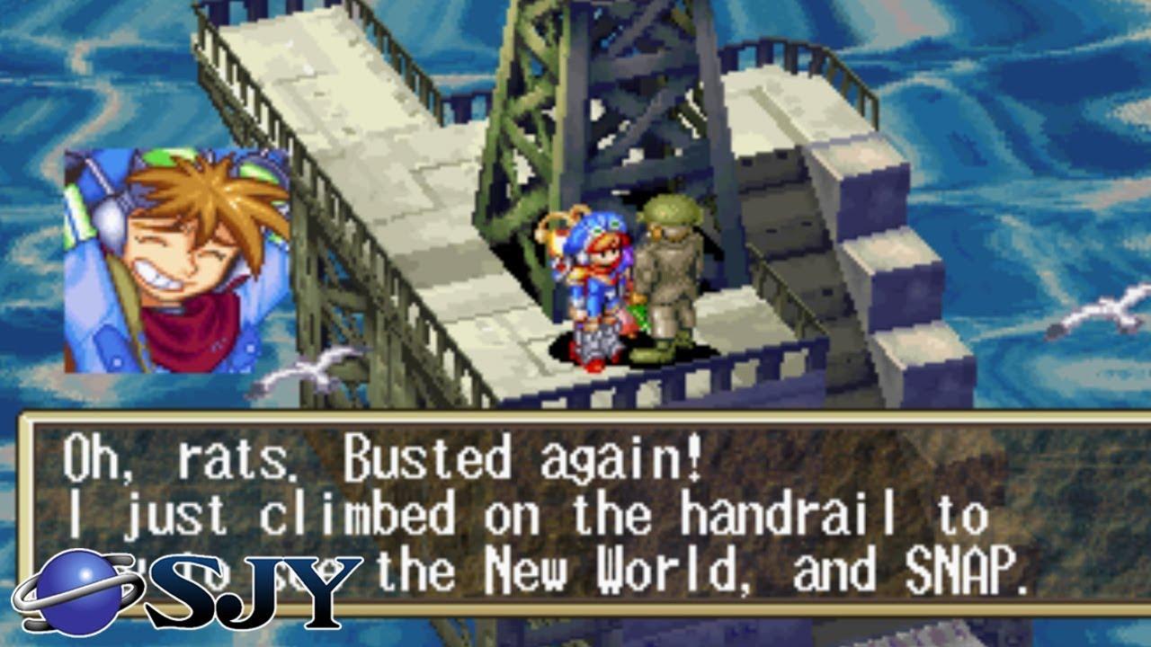 GRANDIA - English Translation Patch [Sega Saturn]
