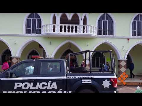 Detienen a elementos de la Policía de Ocampo