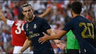 International Cup Arsenal 2 Vs Real Madrid 2 Bale!!! Esensio!! Aubameyang1