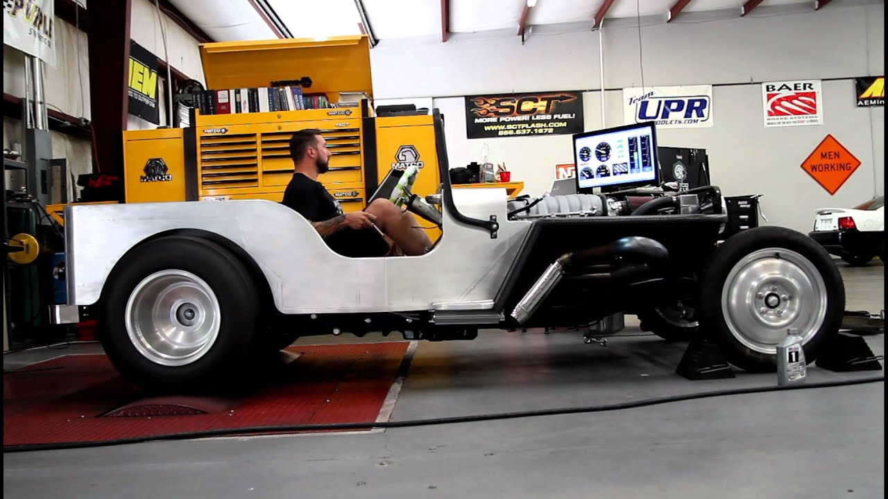 1950 Jeep Cj 3a Hemi Jeep Rod Dyno Run Build And Designed